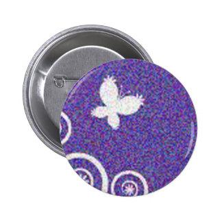 Butterflies 6 Cm Round Badge