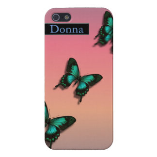 "Butterflies ""After the Rain"" iPhone 5 Cases"