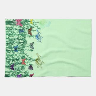 Butterflies American MoJo Kitchen Towels