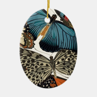 Butterflies Among Us Ceramic Oval Decoration