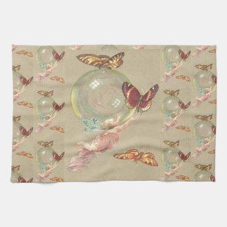 Butterflies and a Angel Tea Towel