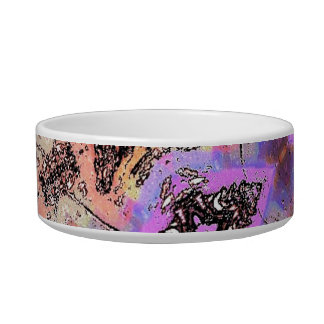 BUTTERFLIES AND BUGS ABSTRACT BOWL