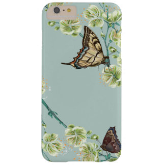 Butterflies and Cherry Blossoms Barely There iPhone 6 Plus Case