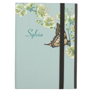 Butterflies and Cherry Blossoms Cover For iPad Air