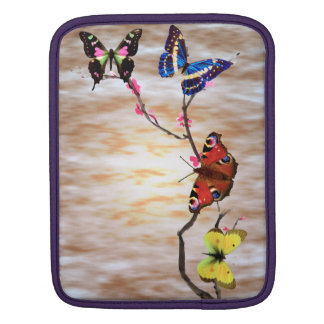 Butterflies and Cherry Blossoms iPad Sleeves