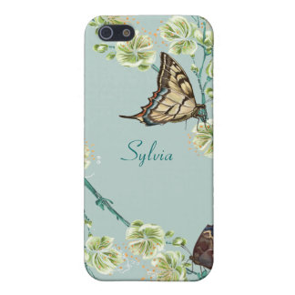 Butterflies and Cherry Blossoms iPhone 5/5S Case