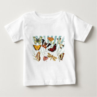 Butterflies And Dragonflies vintage Baby T-Shirt