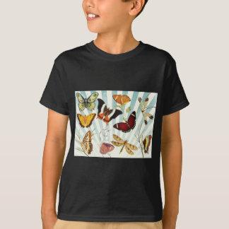 Butterflies And Dragonflies vintage T-Shirt