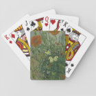 Butterflies and Poppies by Vincent Van Gogh Playing Cards