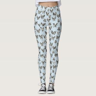 Butterflies and prints leggings
