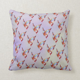Butterflies and Rainbows American Mojo Pillow