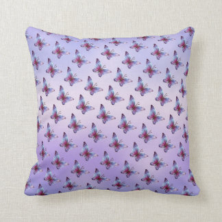 Butterflies and Rainbows American Mojo Pillow Throw Cushions