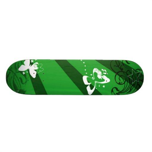 Butterflies and Stars 2 Skateboard Deck
