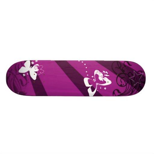 Butterflies and Stars 5 Skateboards