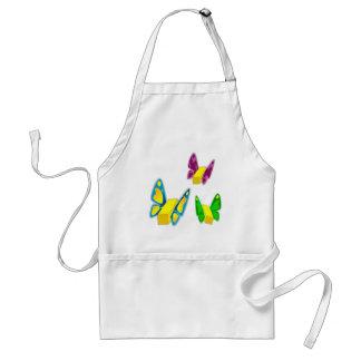 Butterflies apron