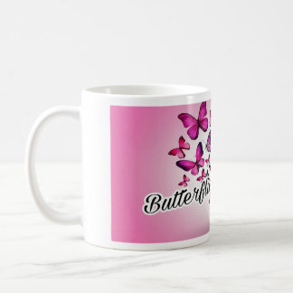 Butterflies are free... coffee mug