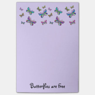 Butterflies are Free Post-it® Notes