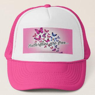 Butterflies are free... trucker hat