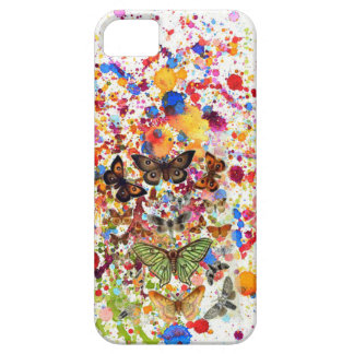 Butterflies ART  iPhone SE+ 5/5S,Barely There iPhone 5 Covers