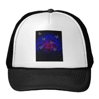 Butterflies at night hat