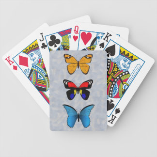 Butterflies Bicycle Playing Cards