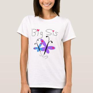 Butterflies  Big Sis T-Shirt