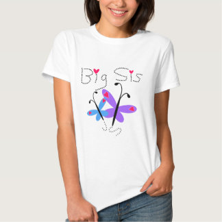 Butterflies  Big Sis Tee Shirts