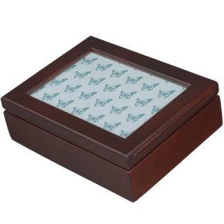 Butterflies blue.ai keepsake boxes