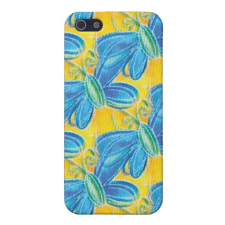 Butterflies Blue Covers For iPhone 5