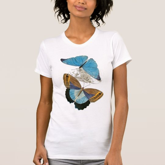 Butterflies - Blue T-Shirt