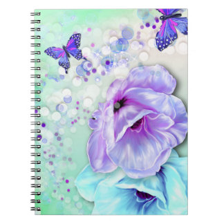 Butterflies, Bokeh and Flowers Note Books