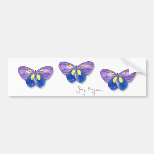 Butterflies Bumper Sticker