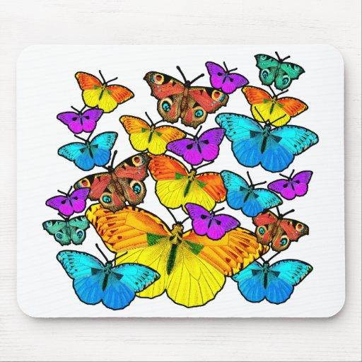 Butterflies! Butterflies! Mouse Mat