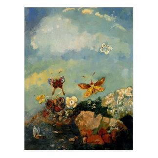 Butterflies by Odilon Redon Postcards