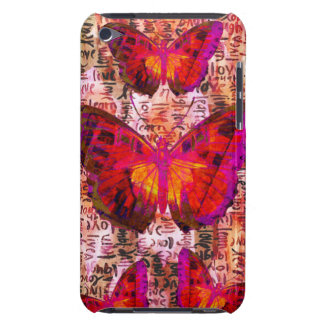 Butterflies Barely There iPod Case