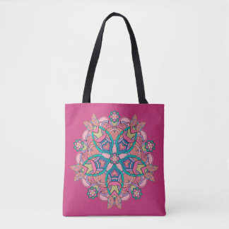 Butterflies Circle Design - Tote Bag