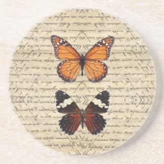 butterflies coaster