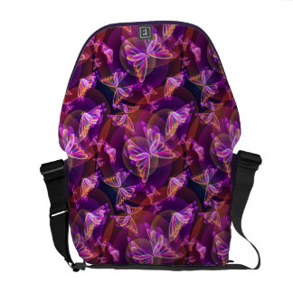 butterflies commuter bag