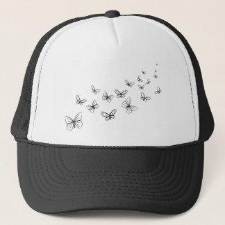 Butterflies Dancing Across the Page Trucker Hat