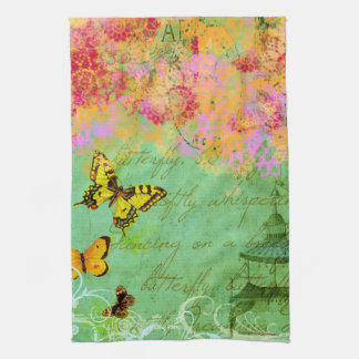 Butterflies Dancing on a Breeze Kitchen Towel