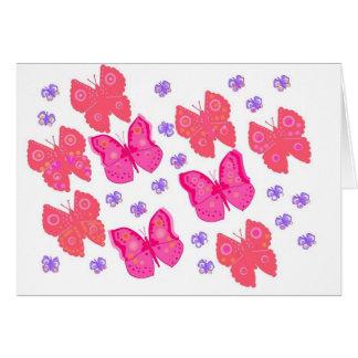 butterflies dig2.jpg greeting card