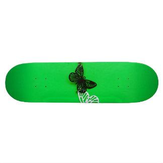 Butterflies earring skateboard deck