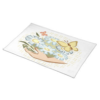 Butterflies & Flowers - American MoJo Placemat