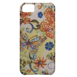 Butterflies Flowers iPhone 5C Covers