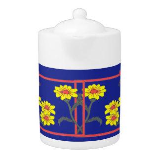 Butterflies & Flowers II Tea Pot