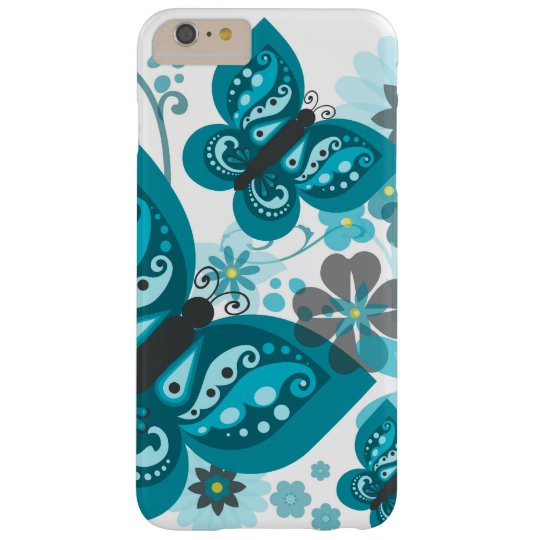 Butterflies & Flowers iPhone 6/6S+ Case Barely