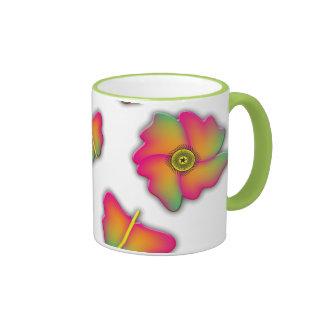 Butterflies & Flowers Mugs
