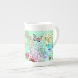 Butterflies & Flowers- Mug