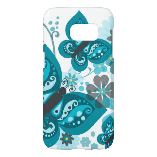 Butterflies & Flowers Samsung Galaxy S7 Case