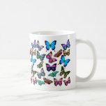 Butterflies Fluttering By Mug